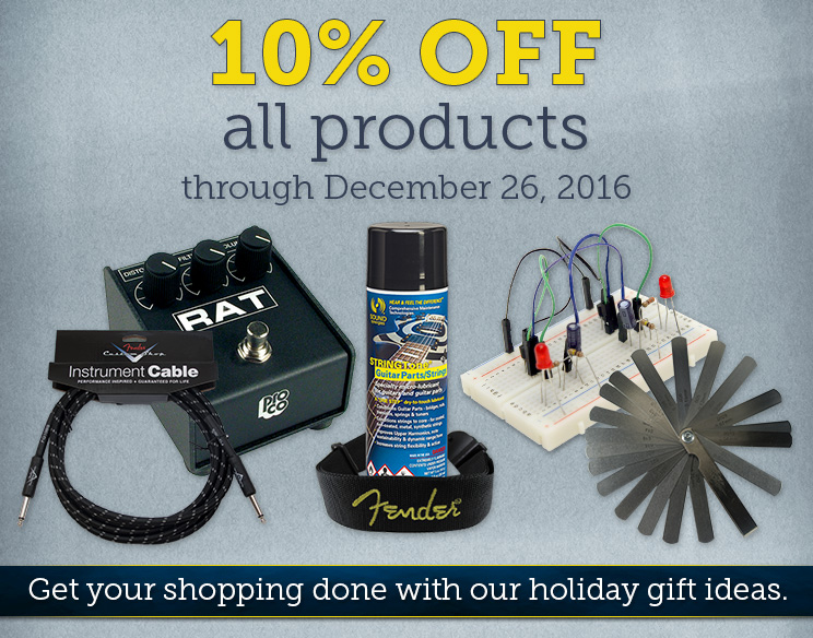 10% OFF all products