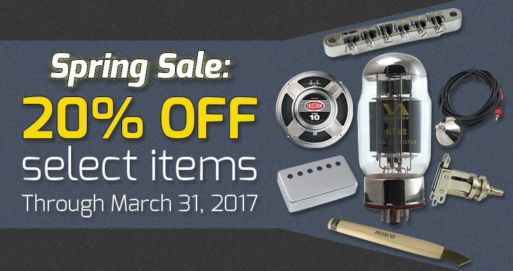 20% OFF select items.
