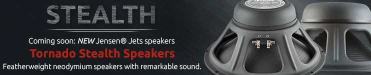 Coming soon: Jensen Tornado Stealth Speakers