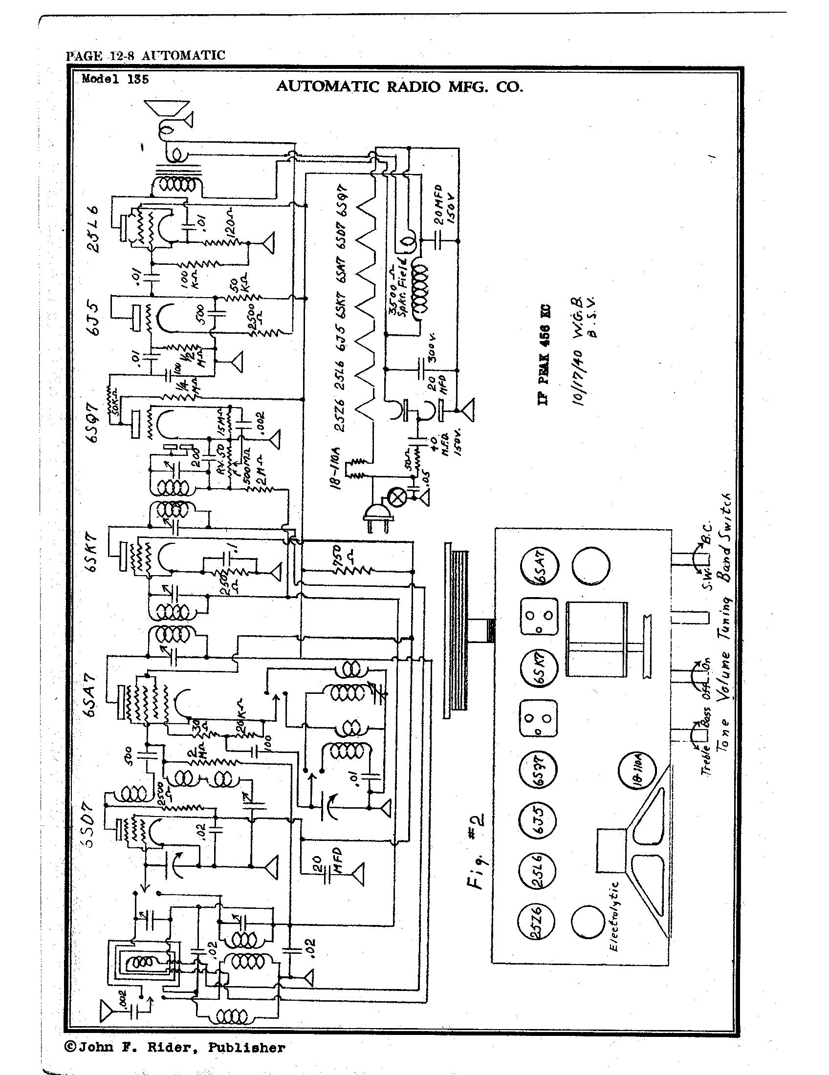 automatic radio mfg  co  135