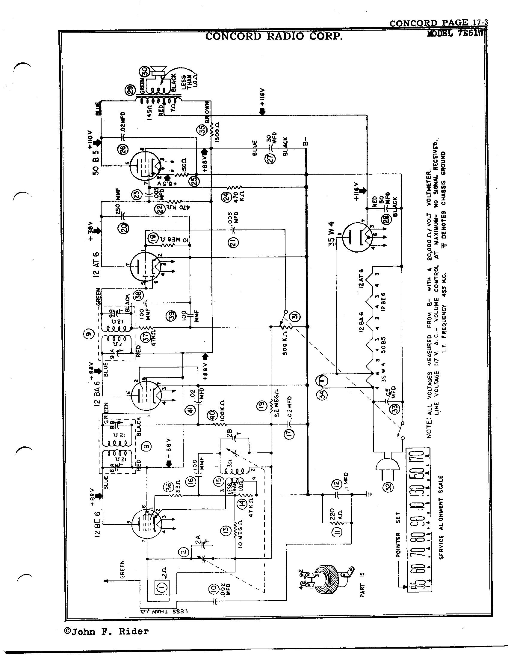 concord radio corp  7e51w