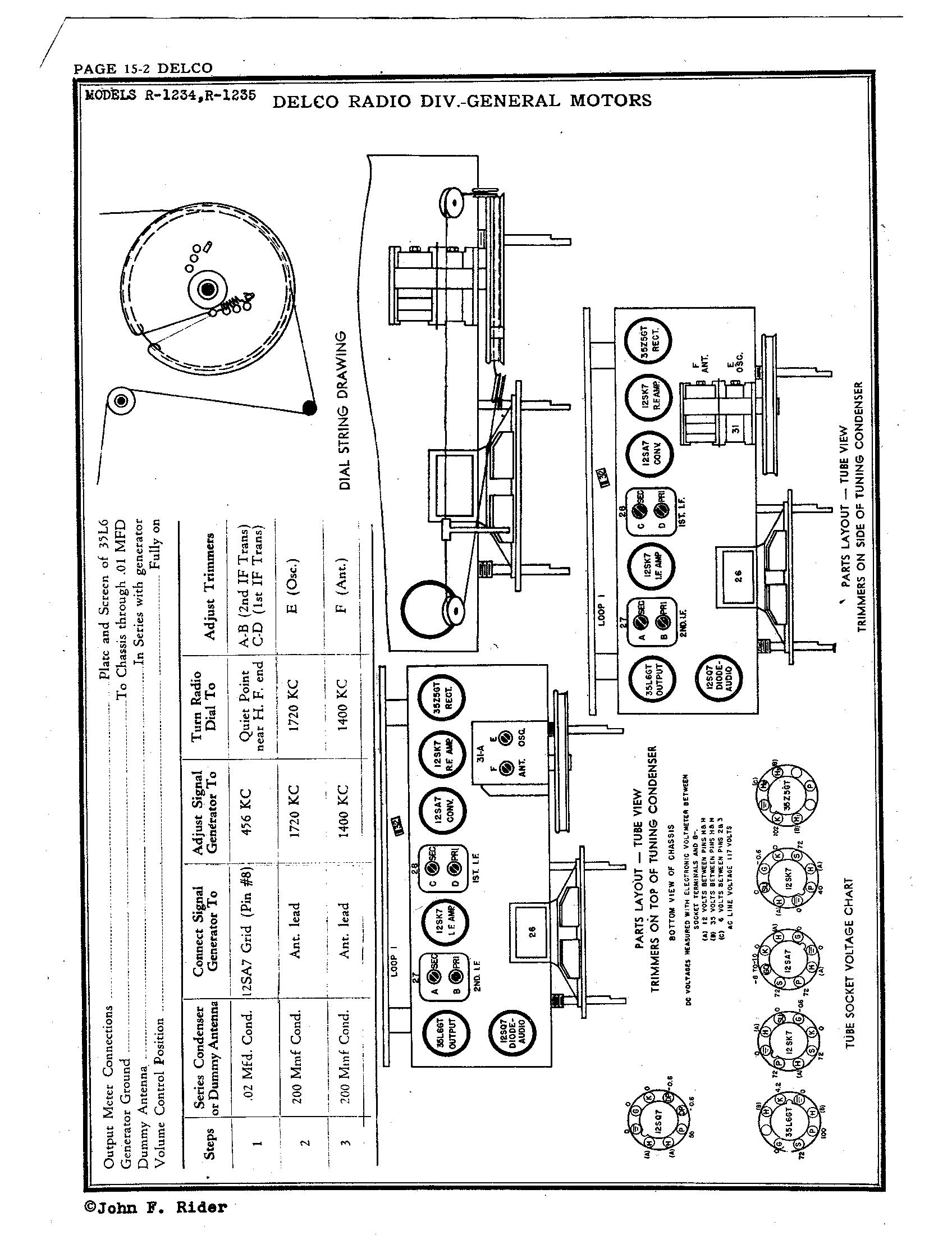 delco_radio_corp_r_1234_pg15-2 Radio Schematic Diagrams on sony tv, digital multimeter, samsung lcd tv, computer circuit board, hvac system,
