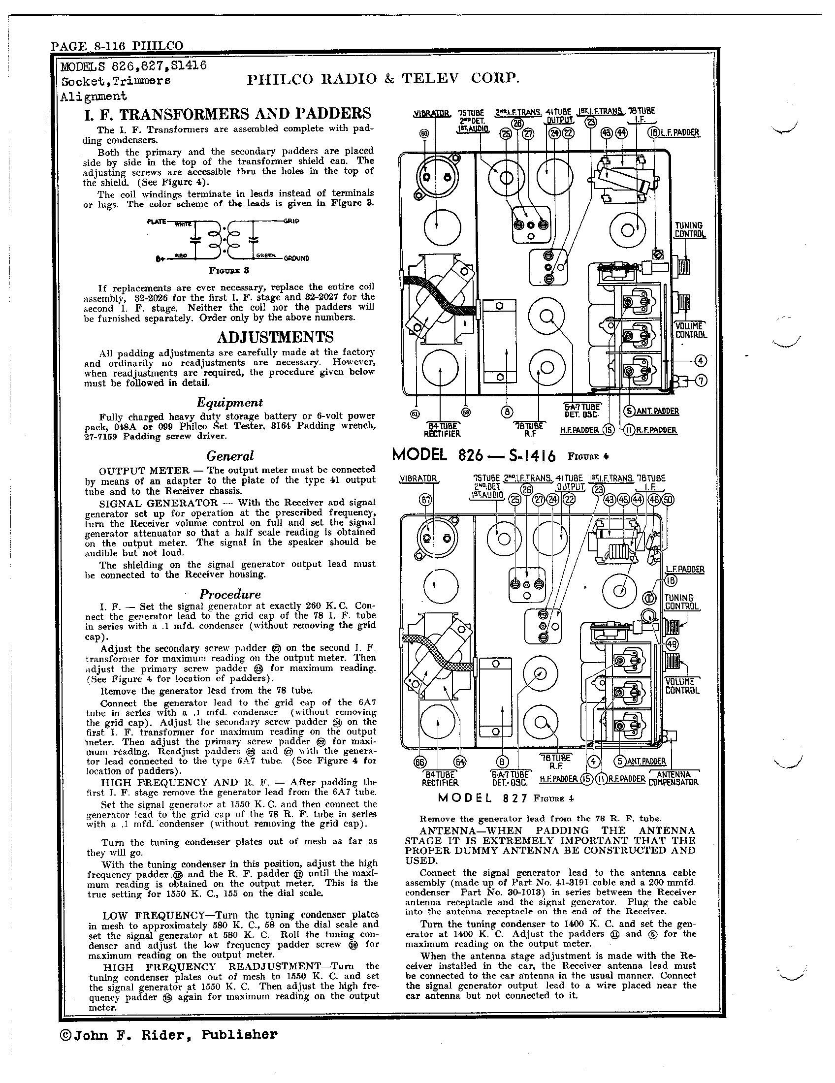 Philco Refrigerator Wiring Diagram : Antique philco radio schematics get free image