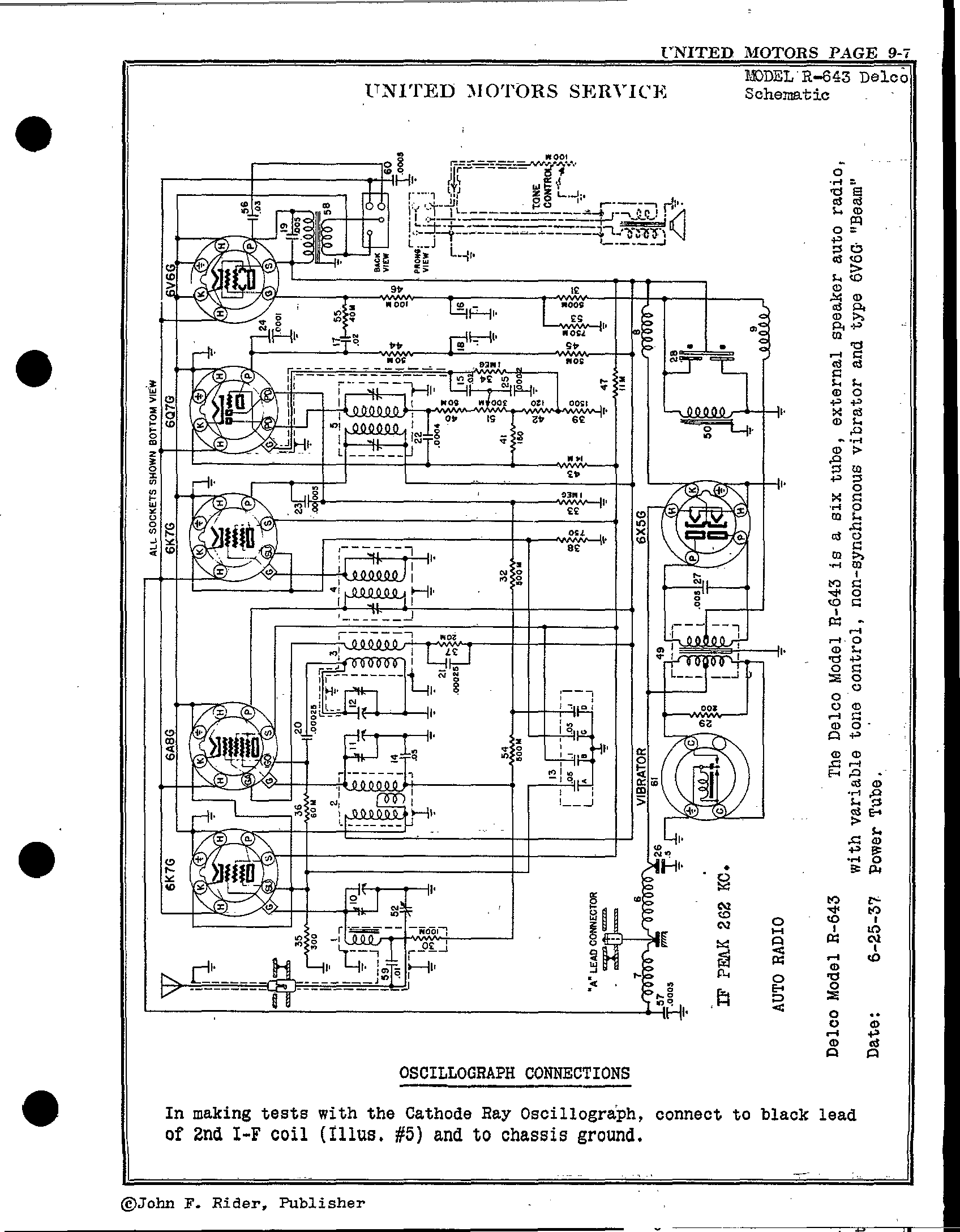 delco radio wiring diagram model 16213825