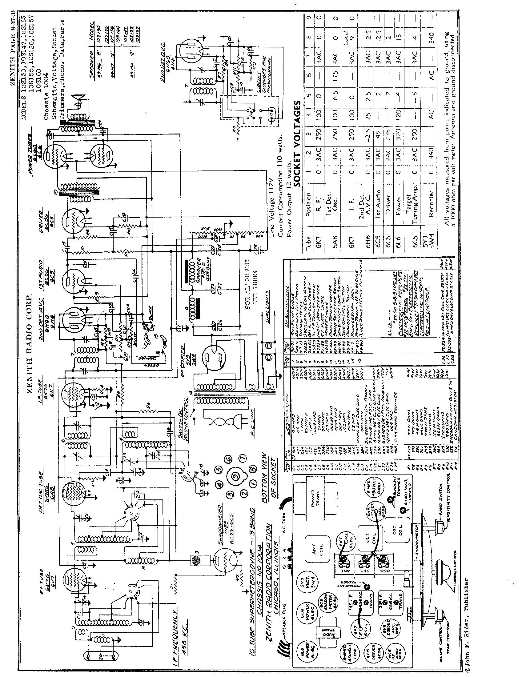 zenith radio corp  10s153