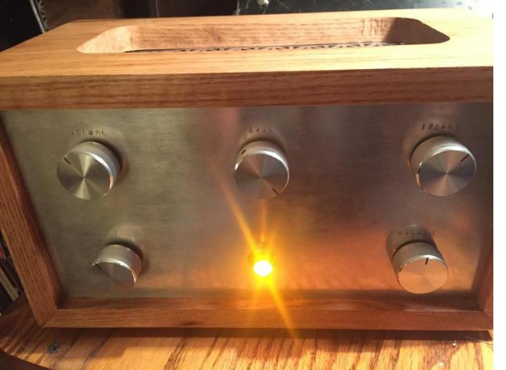 Home built integrated amp
