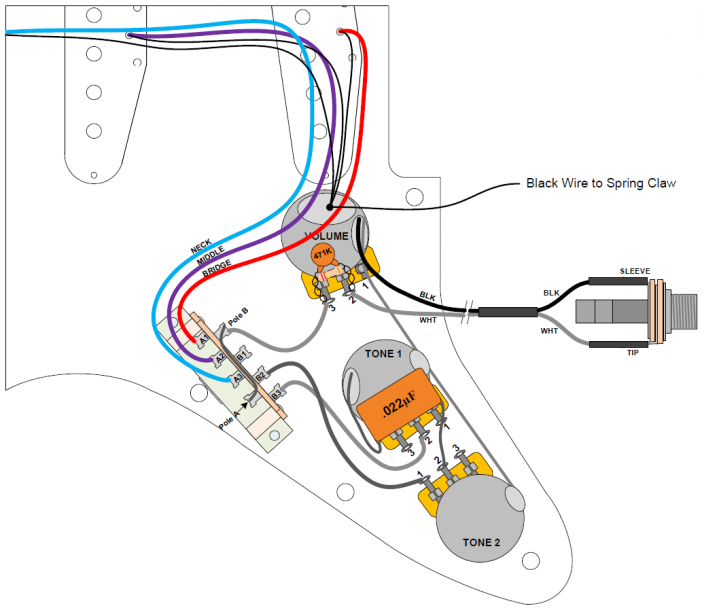Tech Corner Image - Wiring Diagram Strat-1