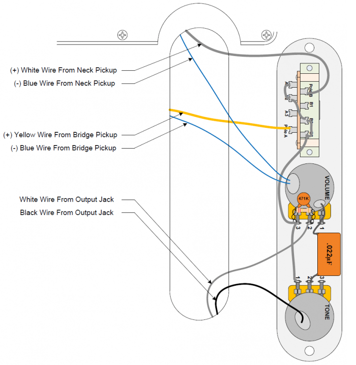 Tech Corner Image - Wiring Diagram Tele-1