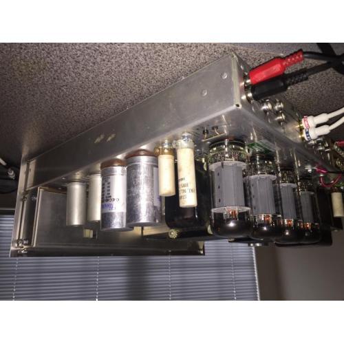 "Customer image:<br/>""CE capacitors & EH 7591s in my Scott 340B restoration"""