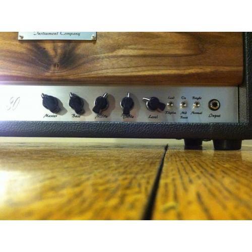 """Customer image:<br/>""""Vogel Instrument Company Evolution 30"""""""
