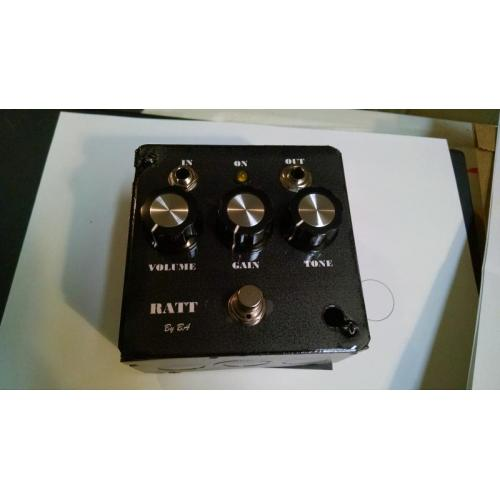 "Customer image:<br/>""Rat clone using black and silver knobs"""