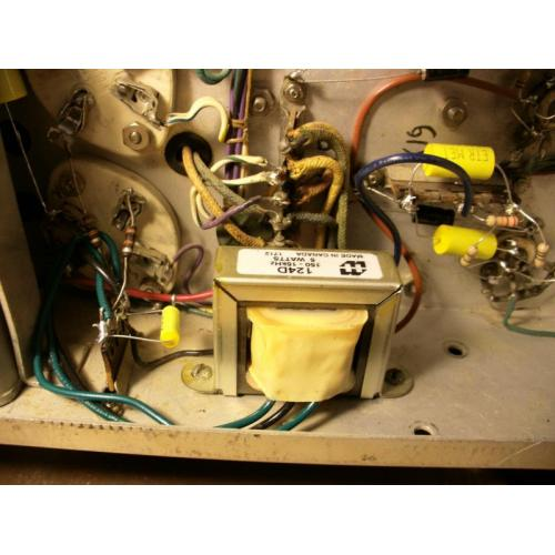 "Customer image:<br/>""Johnson Viking II Driver Transformer Replacement"""