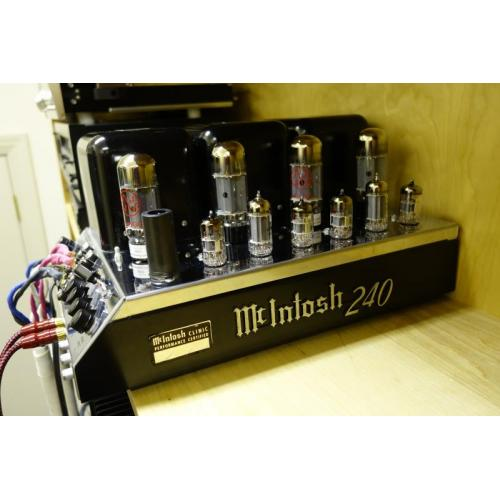 """Customer image:<br/>""""A 51 year old MC240 sounds as beautiful as ever with new AES tubes"""""""