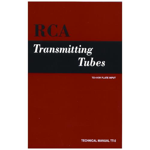 RCA Transmitting Tube Manual TT-5 image 1