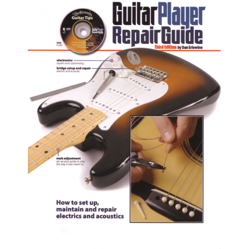 Guitar Player Repair Guide, 3rd Edition with DVD image 1