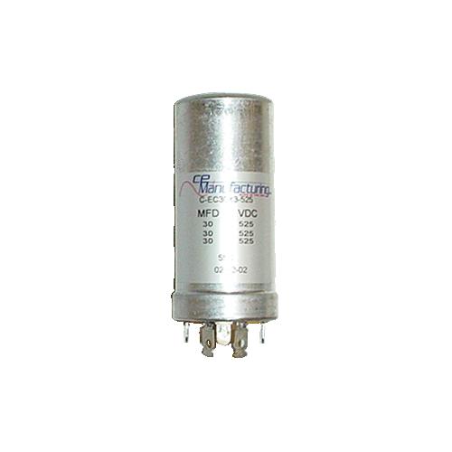 Capacitor - CE Mfg., 525V, 30/30/30uF image 1