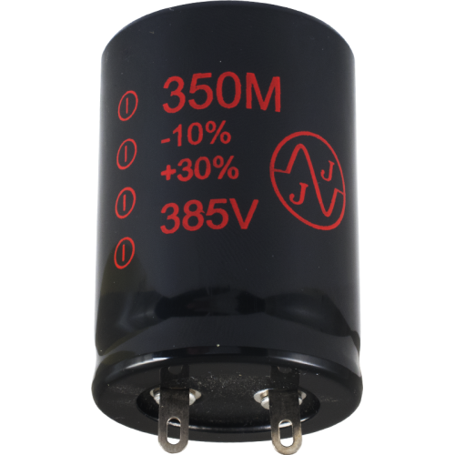Capacitor - JJ Electronics, 385V, 350µF, Electrolytic image 1