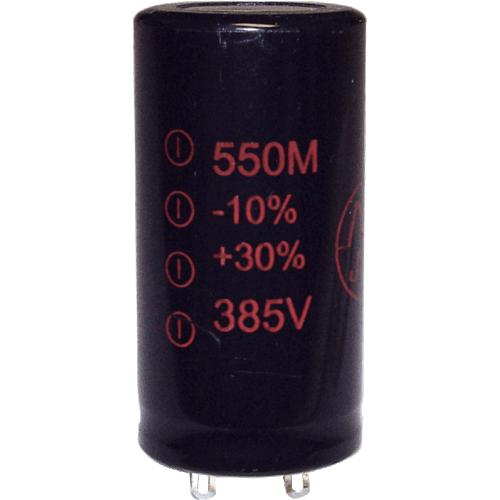 Capacitor - JJ Electronics, 385V, 550µF, Electrolytic image 1