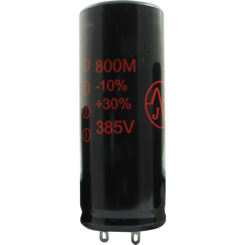 Capacitor - JJ Electronics, 385V, 800µF, Electrolytic image 1
