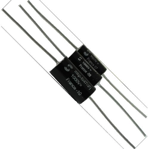 """Capacitor - Solen, 1000V, """"Fast"""", Metalized Polypropylene image 1"""