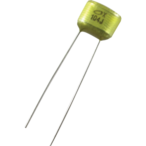 Capacitor - 50V, 0.1µF, Used In Pedal Kits image 1