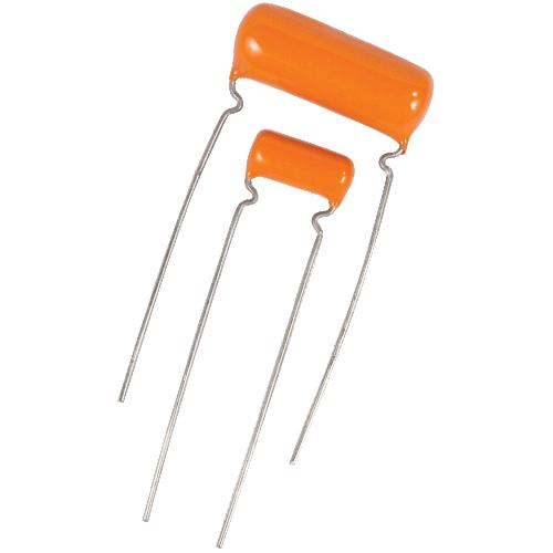Capacitors, Orange Drop, Type PS, Polyester, 600V , .0012µF - .022µF image 1