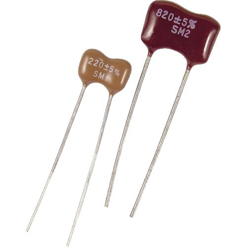 Capacitor - Silver Mica, 500V image 1