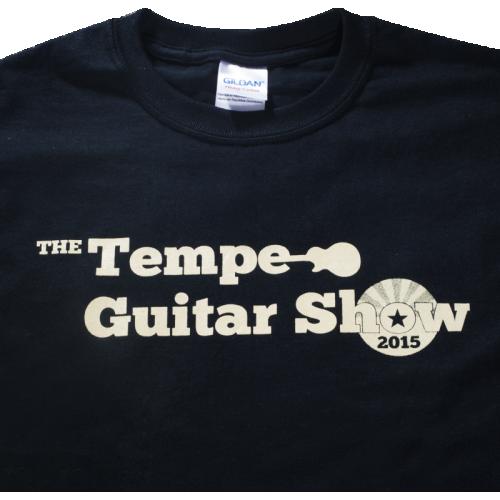 T-Shirt - 2015 Tempe Guitar Show image 2