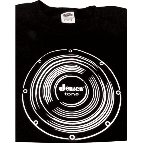 Shirt - Black with Jensen Logo image 1