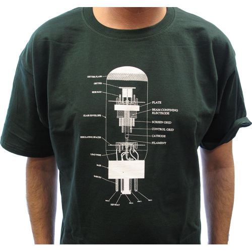 Shirt - Forest Green with 6L6 Diagram image 2