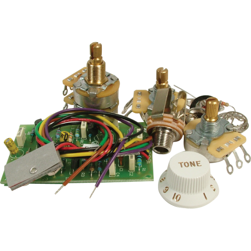 Upgrade Kit - For Fender®, Mid Boost Preamp for Strats image 1