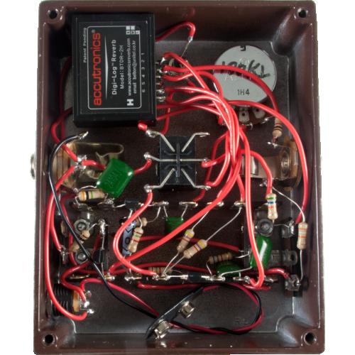 "Kit - ""The Verb Deluxe"" Digital Reverb Pedal, Mod Kits DIY image 3"