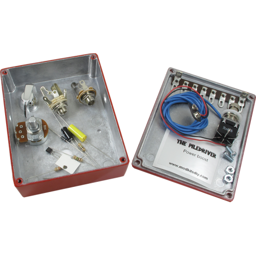 "Kit - ""The Piledriver"" Power Boost Effects Pedal, Mod Kits DIY image 3"