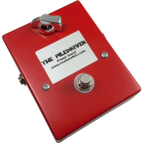 "Kit - ""The Piledriver"" Power Boost Effects Pedal, Mod Kits DIY image 1"