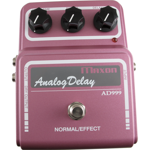 Effects Pedal - Maxon Vintage, AD999 Analog Delay image 1
