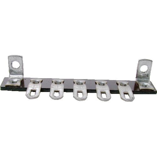 Terminal Strip - 5 Lug, 0 Common, Horizontal image 1