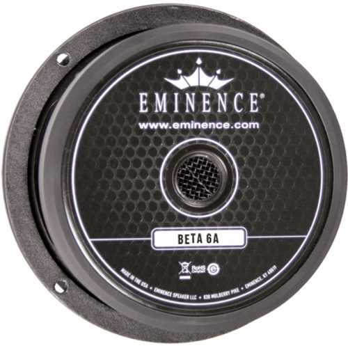 "Speaker - Eminence® American, 6"", Beta 6A, 175 watts image 1"
