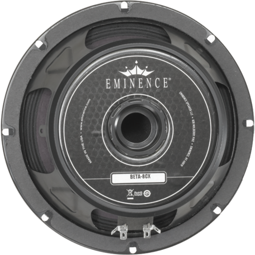 "Speaker - Eminence® American, 8"", Beta 8CX, 250 watts image 1"
