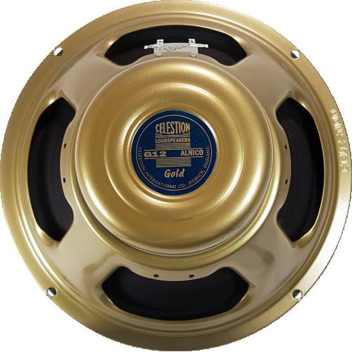 """Speaker - Celestion, 12"""", G12 Alnico Gold, 50W image 1"""