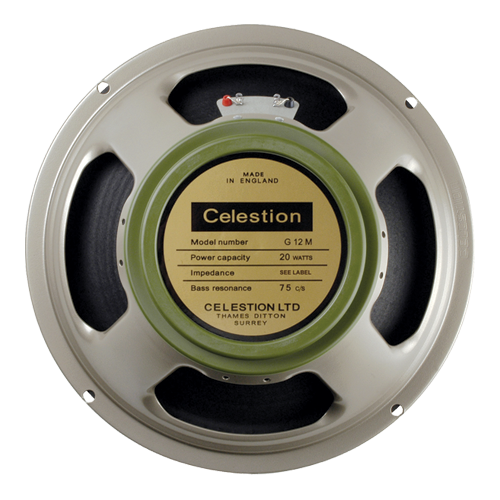 "Speaker - Celestion, 12"", G12M Greenback Heritage, 20W image 1"