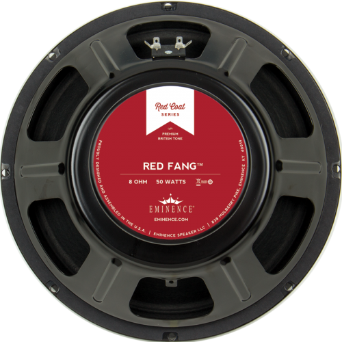 "Speaker - Eminence® Redcoat, 12"", Red Fang, 50W image 1"