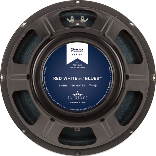 """Speaker - Eminence® Patriot, 12"""", Red, White and Blues, 120W image 1"""