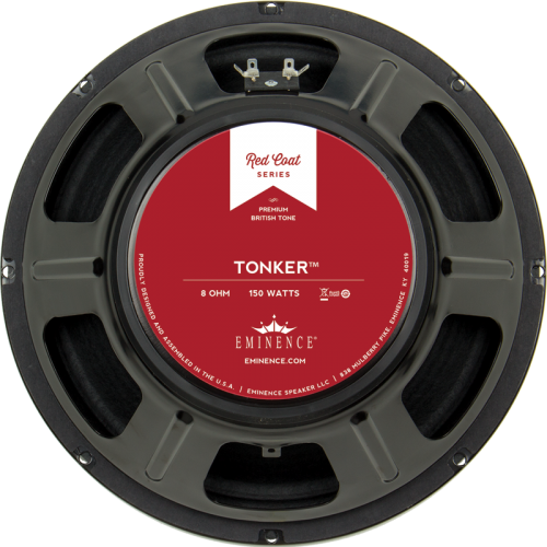 "Speaker - Eminence® Redcoat, 12"", The Tonker, 150 watts, 8 ohm image 1"