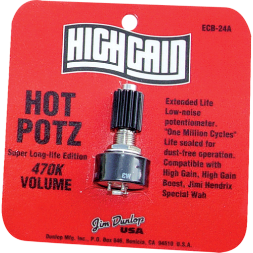 Potentiometer - Dunlop Hot Potz, 470K image 1