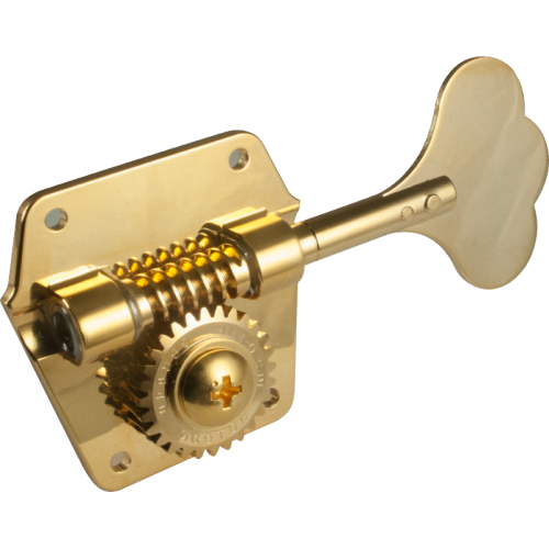 Tuner - Gotoh, replacement for Pre-CBS Fender Bass, 4-in-a-line, Gold image 1