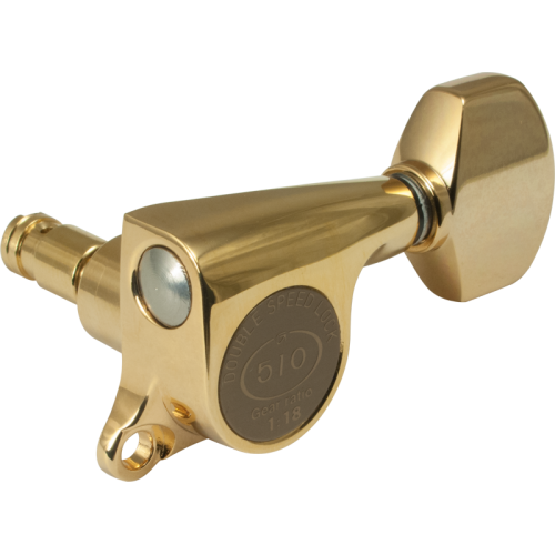 Tuner - Gotoh, Mini 510 Locking Grover-style, 6 in a line image 3