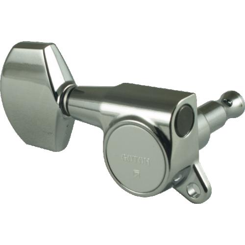 Tuner - Gotoh, Large Schaller-style Knob, 3 per side image 1