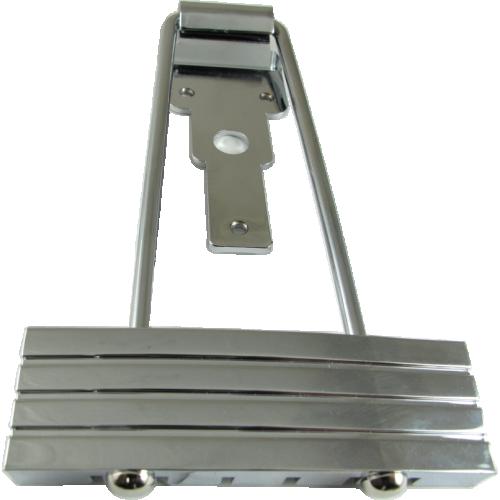 Tailpiece - Kluson, Trapeze, Chrome image 1