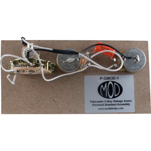 Prewired Assembly - MOD®, Vintage Series, Tele 3-Way image 1