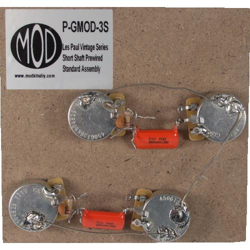 Prewired Assembly - MOD®, Vintage Series, Short Shaft Les Paul image 1